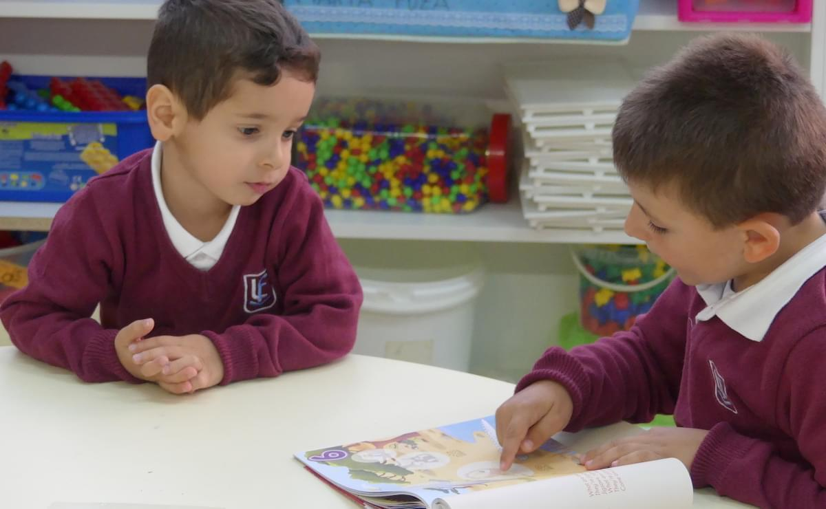 Infantil Lectura Aprendizaje Cooperativo